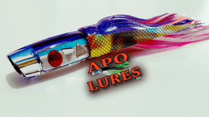 "9"" Apo Lures U5 Series Cracked Glass Scoop"