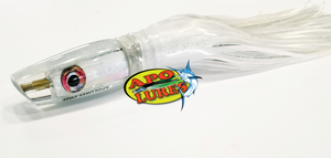 "9"" Apo Lures White Knight Olelo Plunger (Scoop)"