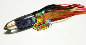 "7"" Apo Lures IWI Purple Bullet"