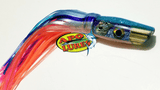 "7"" Apo Lures Ice Blue Salmon Jetted Scoop"