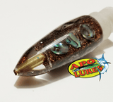 "7"" Apo Lures Root Beer IWI Stubby Short Bullet (Naked)"