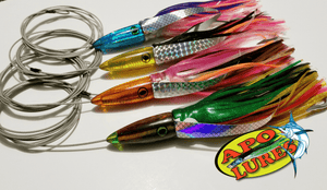 Apo Lures Whooo Killah Custom Fully Rigged Set Of 4