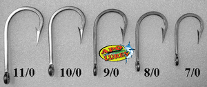 Apo Lures Big Game Stainless Hooks 10/0 Size