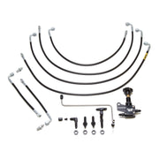 Chase Bays inInterior Nissan 240sx and Silvia Brake Line Relocation Kit ABS Delete