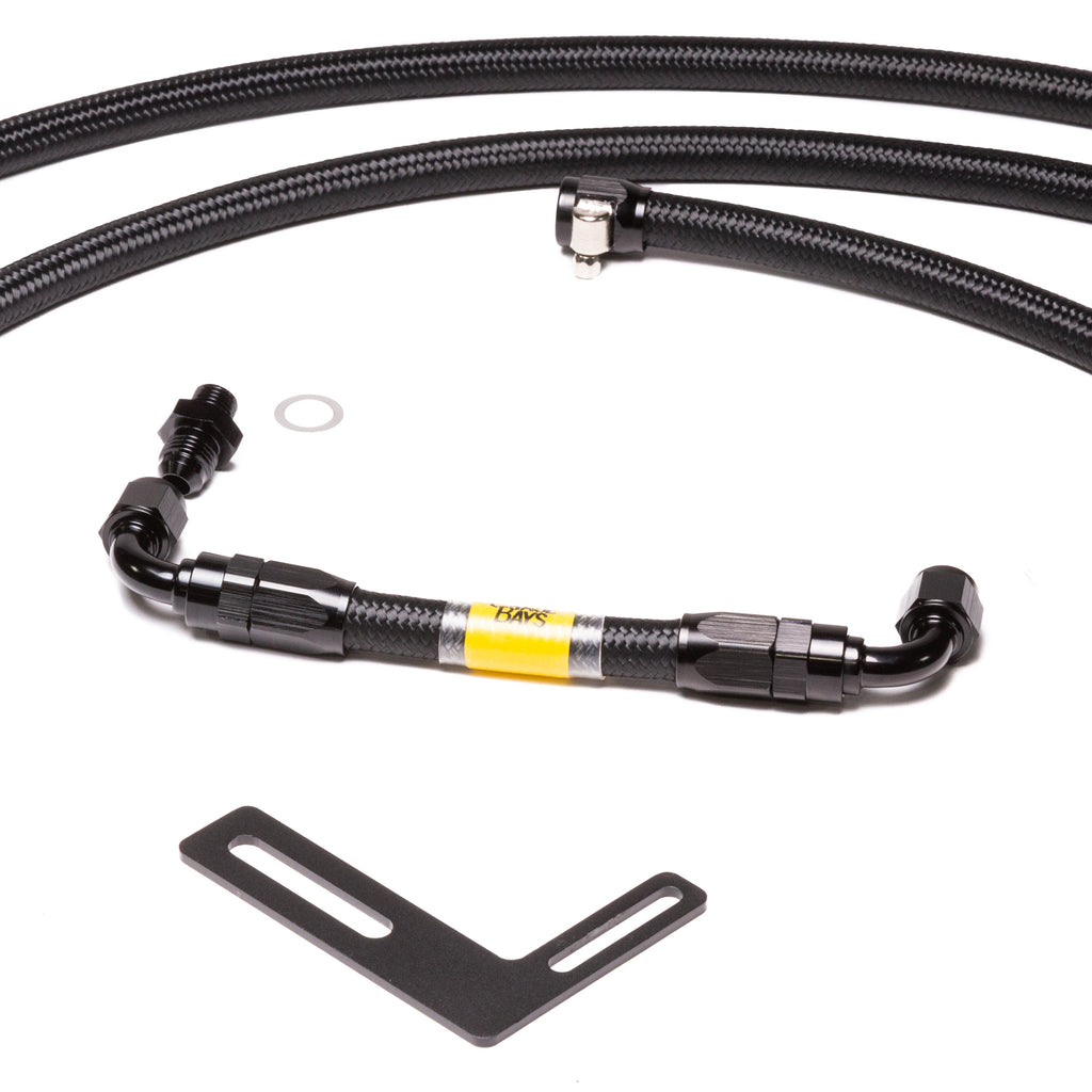 Chase Bays Front to Rear AN Fuel Line Kit - Toyota AE86 Corolla with Beams 3S-GE