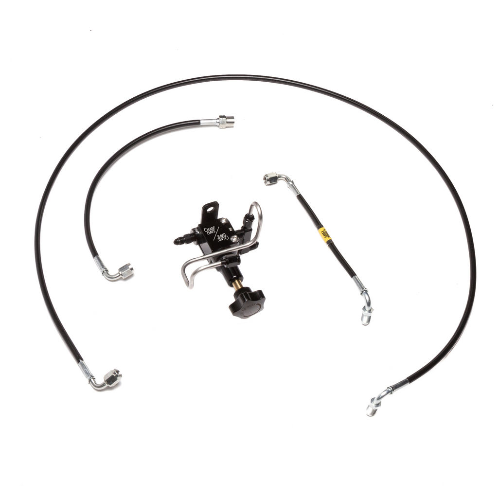 Chase Bays Brake Line Relocation - BMW E30 for BBE