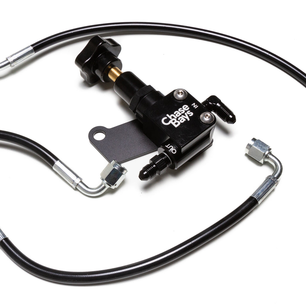 Chase Bays Brake Line Relocation - 93-98 Toyota Supra JZA80 for OEMC