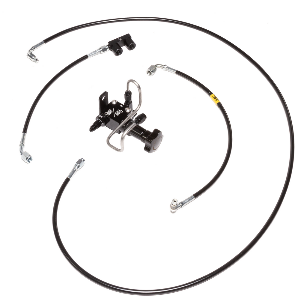 Chase Bays Brake Line Relocation - 93-98 Toyota Supra JZA80 for BBE