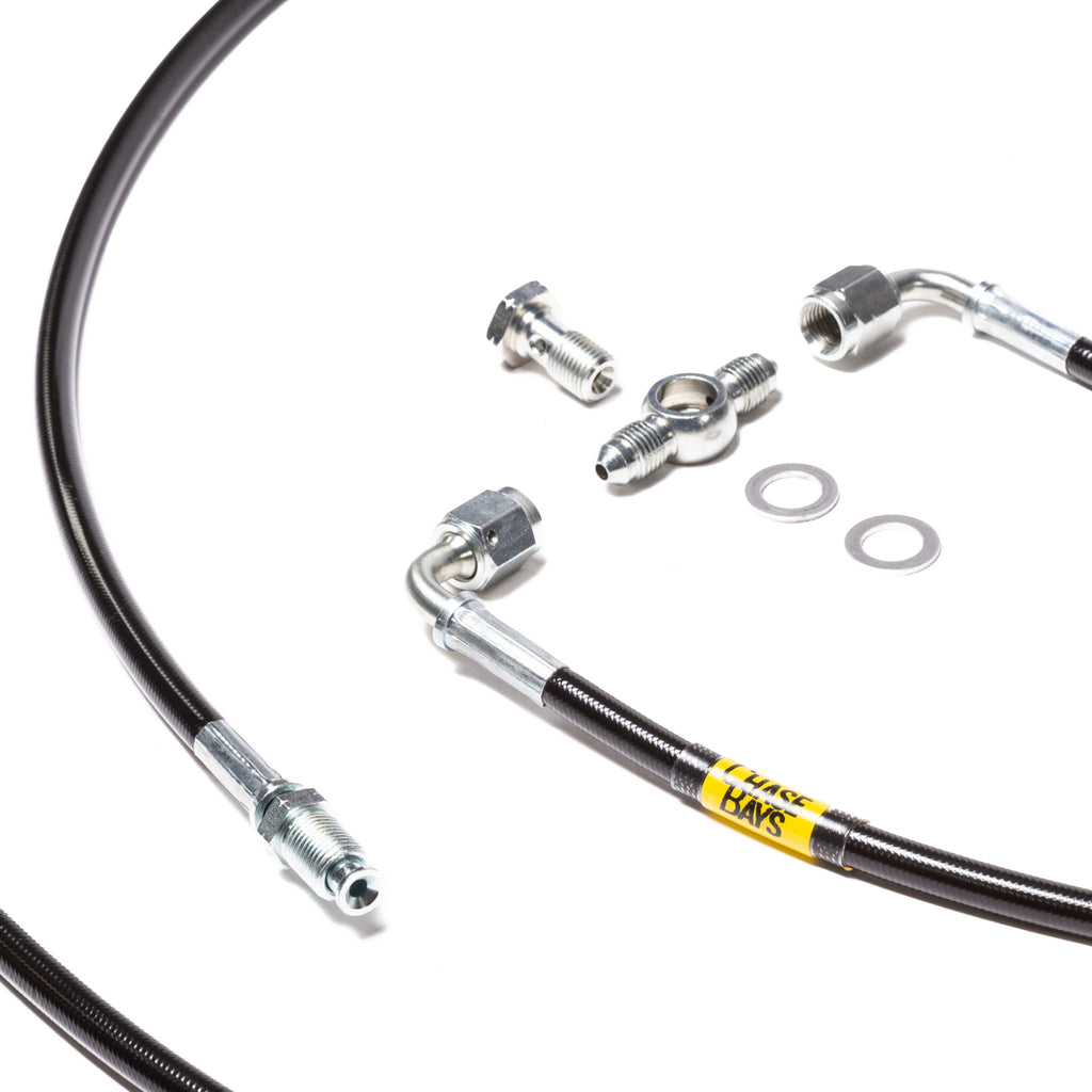 Chase Bays Brake Line Relocation - 88-91 Civic / CRX and 90-93 Integra with OEMC