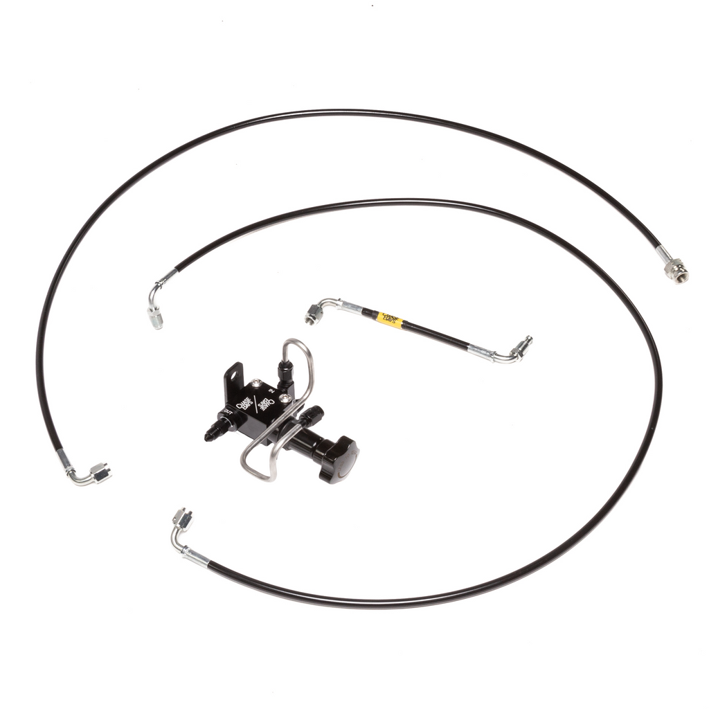 Chase Bays Brake Line Relocation - Toyota AE86 Corolla for BBE