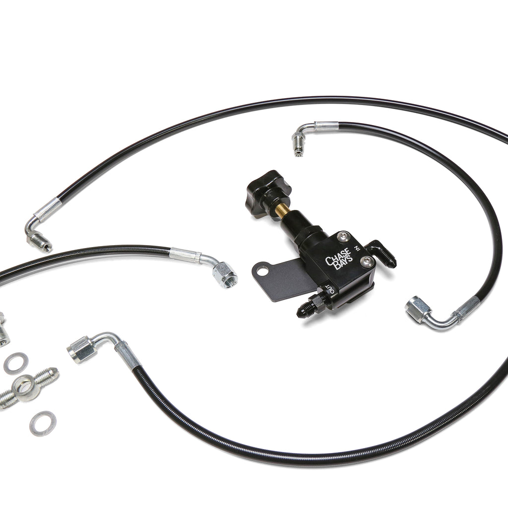 Chase Bays Brake Line Relocation - Toyota AE86 Corolla for OEMC