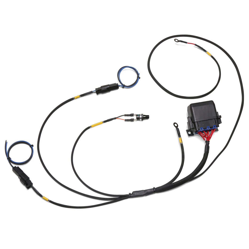 Chase Bays Dual Fan Relay Wiring Harness with 180º F Thermoswitch