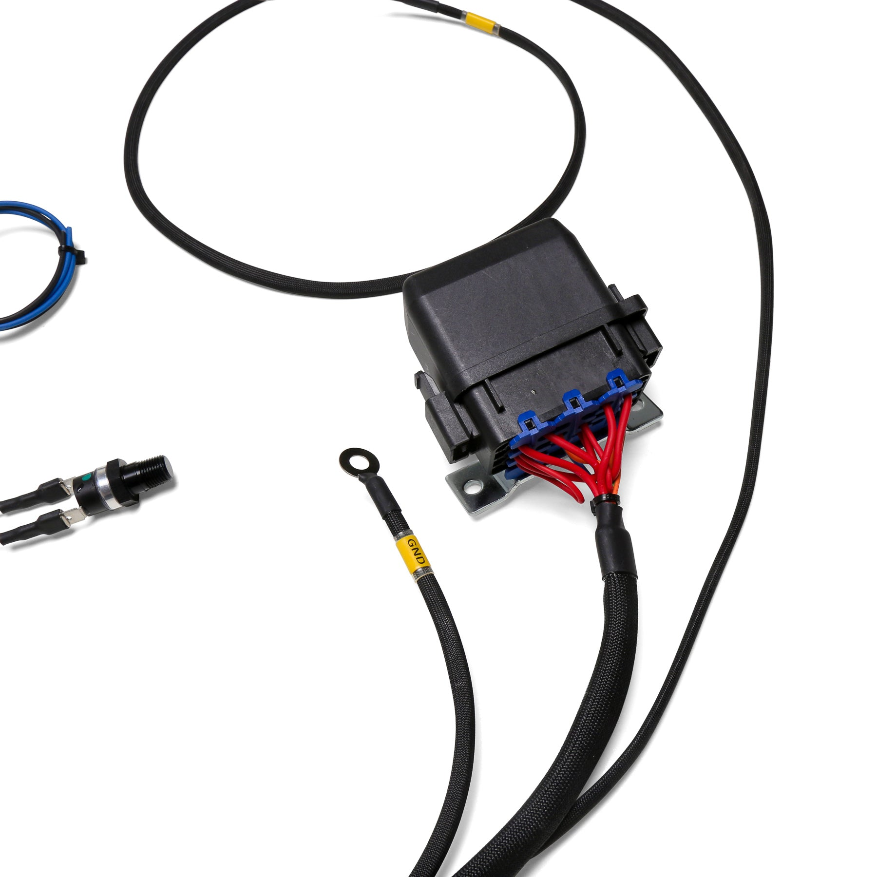 Mazda Miata Dual Fan Wiring Harness Free Download Electric Diagram Chase Bays Relay With 180 F Thermoswitch