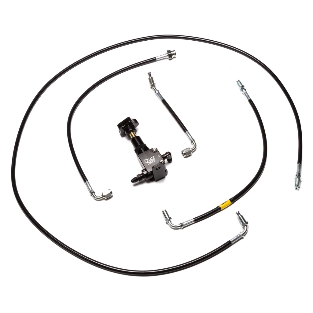 Chase Bays Brake Line Relocation - Mazda RX-7 FC for OEMC