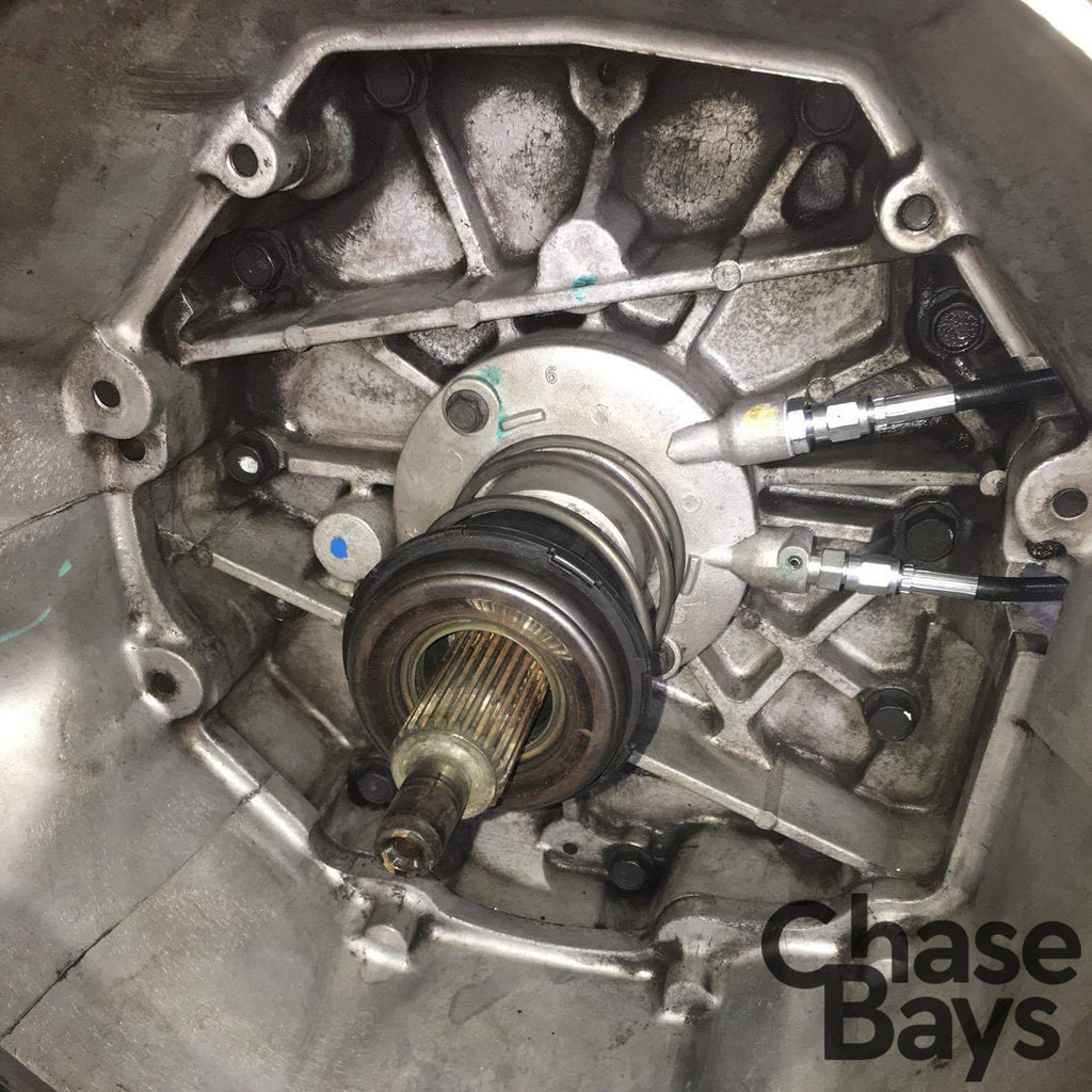 Chase Bays T56 TR6060 LS1 Clutch Line Installed