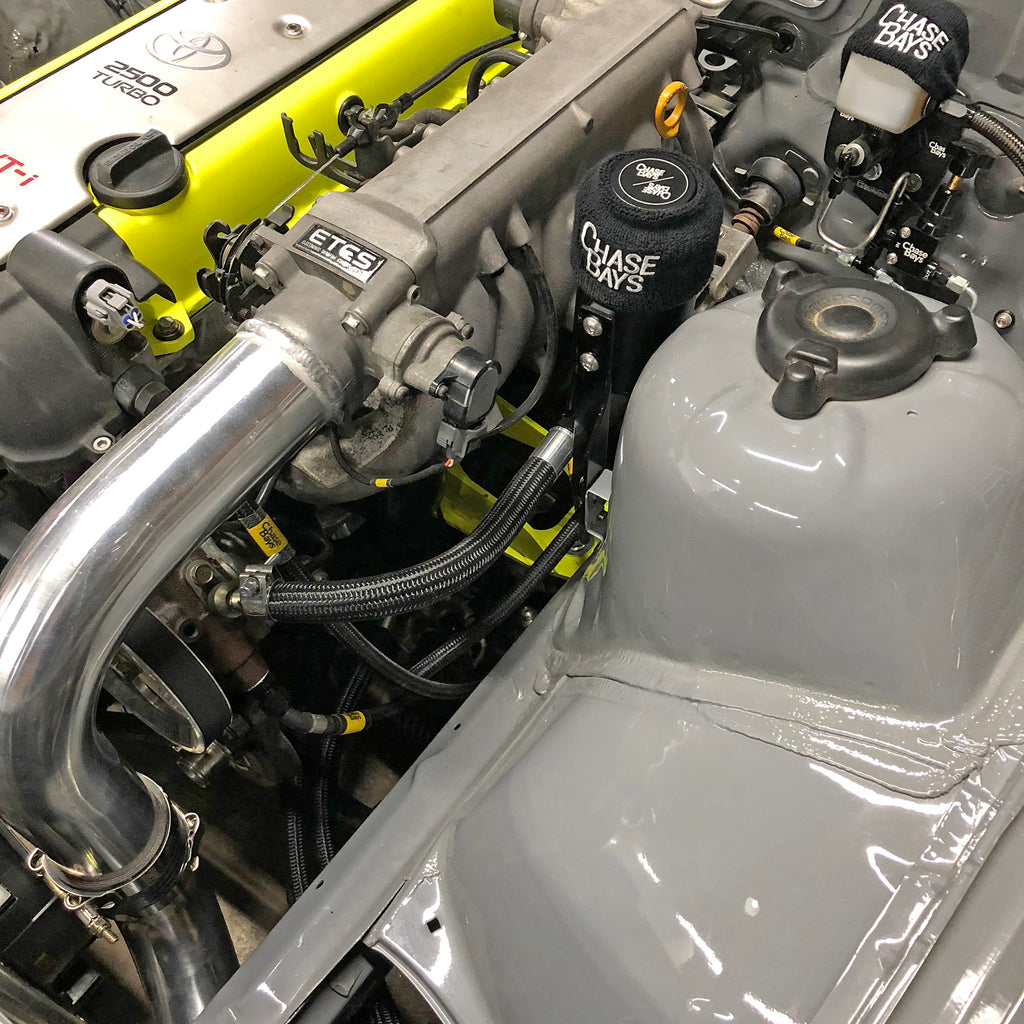 Chase Bays NEW Triple Baffled Power Steering Reservoir