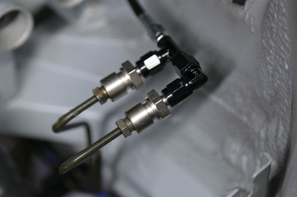 Chase Bays Brake Line Relocation - BMW E36 for OEMC