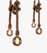 Vintage Pendant Rope Light