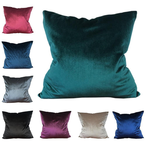 Jewel Tone Velvet Cushion Covers - Decor Devotion