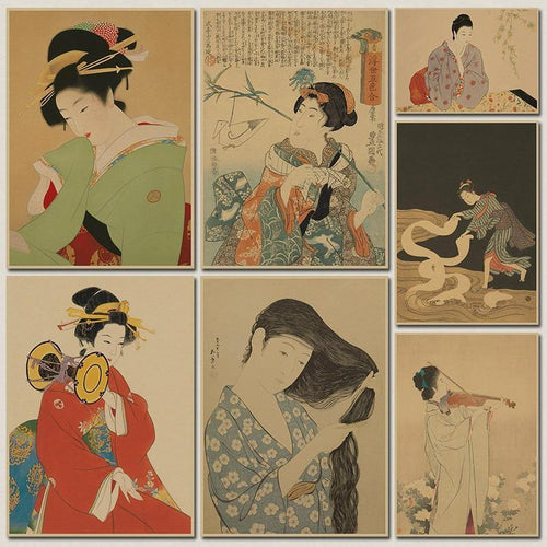 Ukiyoe Poster - Decor Devotion