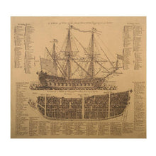 Vintage Ship Poster - Decor Devotion