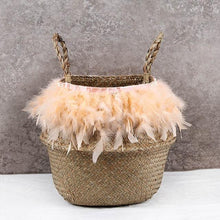 Custom Seagrass Basket - Decor Devotion