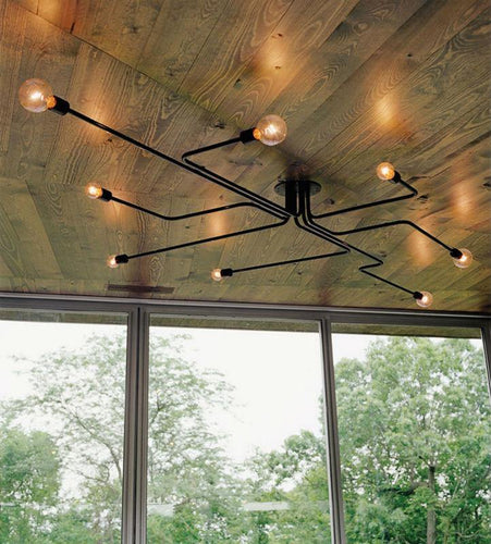 Multi Armed Contemporary Industrial Lights - Decor Devotion