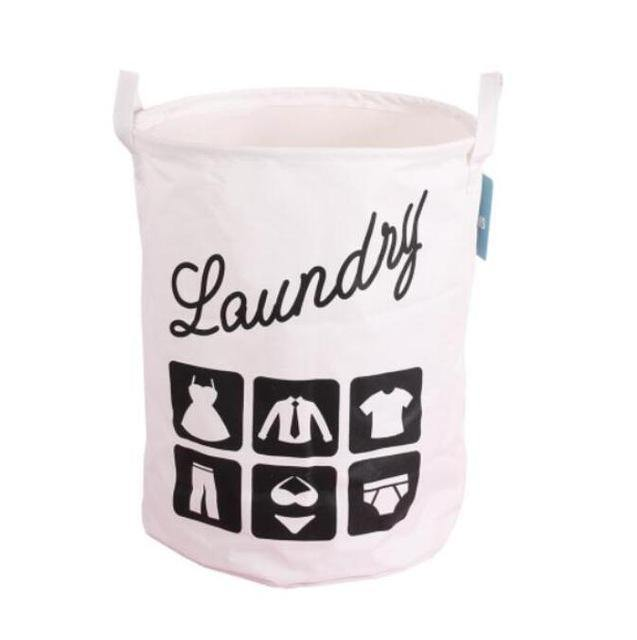 Modern Minimal Graphic Laundry Basket - Decor Devotion