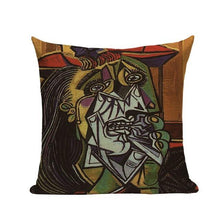 Colorful Abstract Picasso Impression Cushion Covers - Decor Devotion