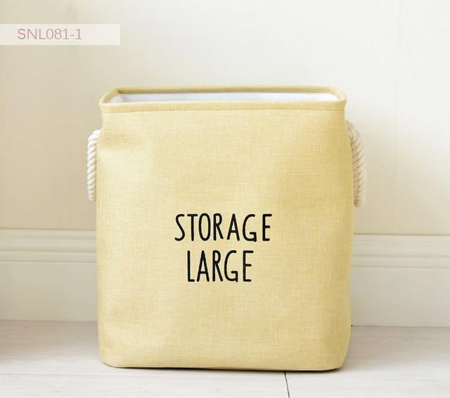 Large Pastel Colors Hamper Bags - Decor Devotion