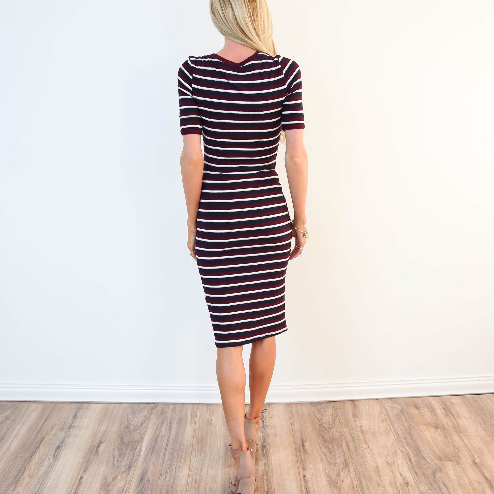 Terresa Stripe Dress