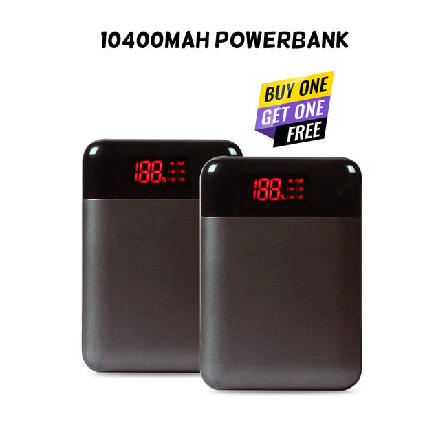 Buy One Get One 10400 mAh Powerbank