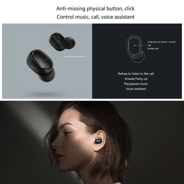 BlueMate Airdots Wireless Bluetooth Headset