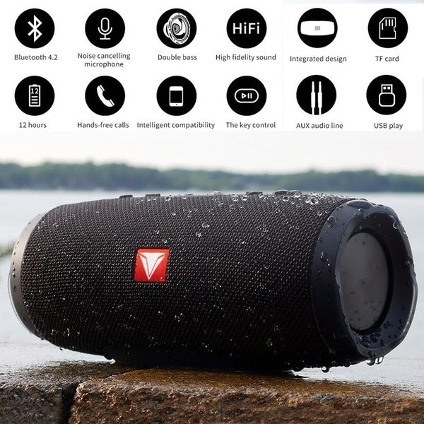 Charge 2 + Portable Wireless Bluetooth Speaker
