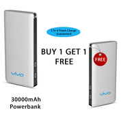Buy One Get One 30000 mAh Power Bank with free Earphone
