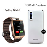Buy Calling Watch With 32000mAH Branded Power Bank
