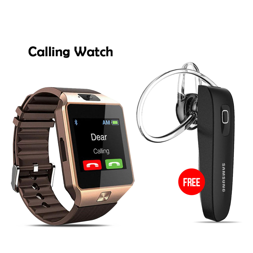 Buy Calling Watch With Free Branded Bluetooth Headset