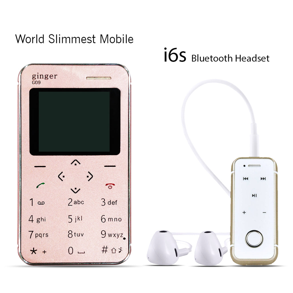 World Slimmest Mobile With Free i6s Bluetooth Headset
