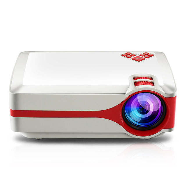 J03 LCD LED Projector 3000 Lumen Full HD Projector 1080P HD Smart