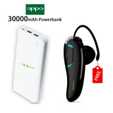 30000mAH Power Bank with free Bluetooth