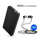 30000mAH Branded Power Bank with free Earphone