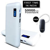Buy Online Branded 50000mAh Power Bank And Get Branded Bluetooth Free