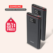 Buy 1 Get 1 Branded 32000mAh Power Bank