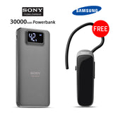 Buy Online 30000mAH Power Bank & Get Bluetooth Free