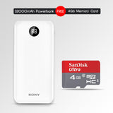 32000mAH Powerbank With 4GB Memory Card