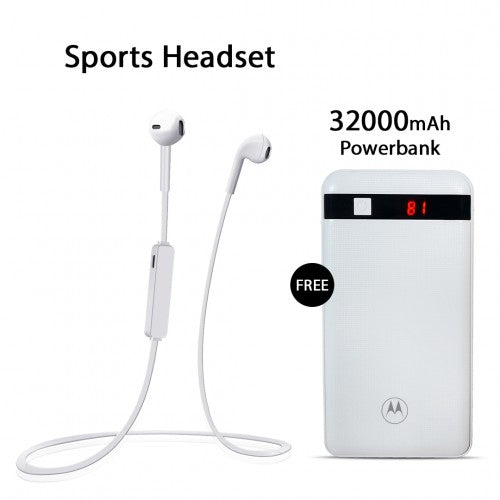 Sports Headset With Free 32000mAh Power Bank
