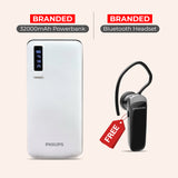 Buy 32000mAH Power Bank With Branded Bluetooth Headset