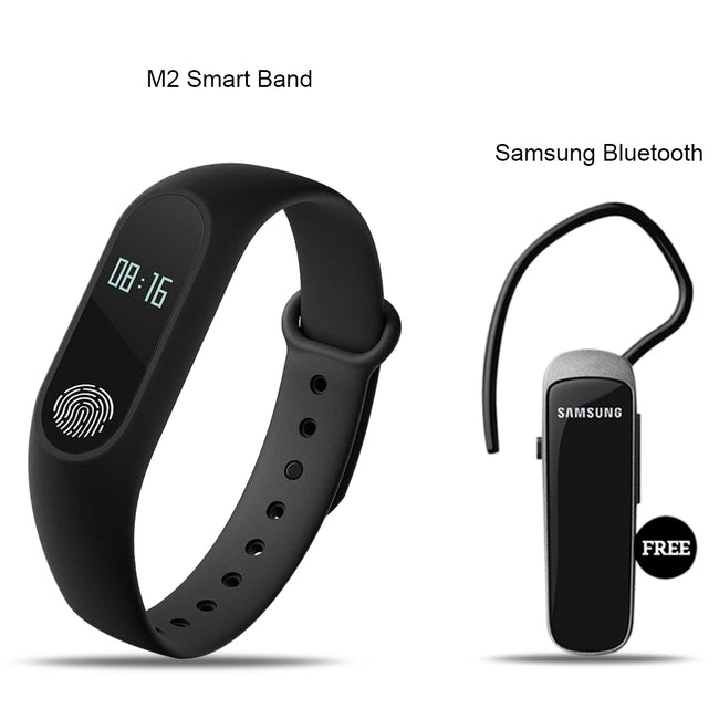 Mi Plus M2 Smart Fitness Band With Bluetooth Headset