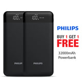 Buy 1 Get 1 Free Branded 32000mAh Power Bank
