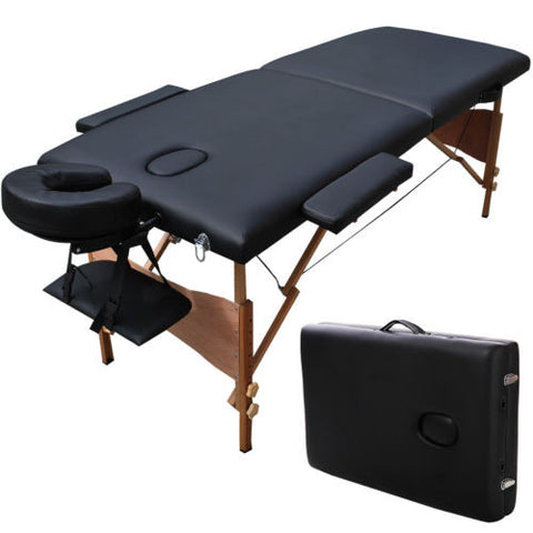"Portable Massage Table 84"" with Carrying Case"